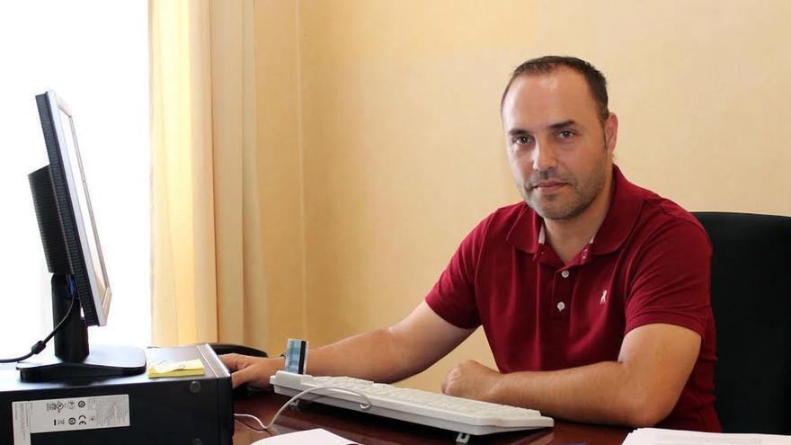 Luis Camacho, consejero de Recursos Humanos del Cabildo de La Palma.