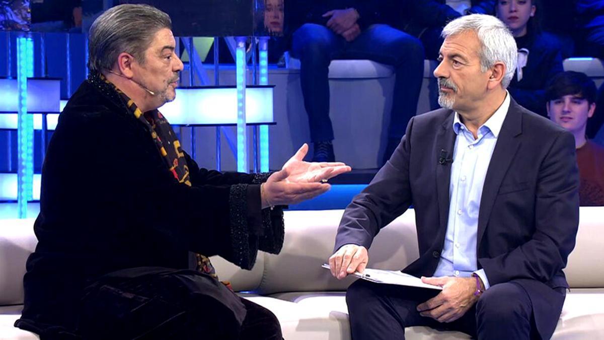 Antonio Canales y Carlos Sobera en 'Volverte a ver'