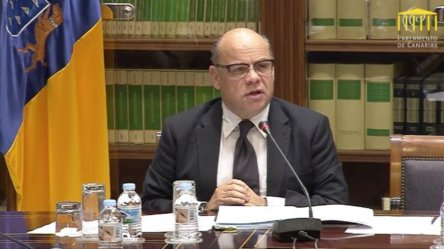 José Miguel Barragán, consejero de Presidencia, Justicia e Igualdad del Gobierno de Canarias