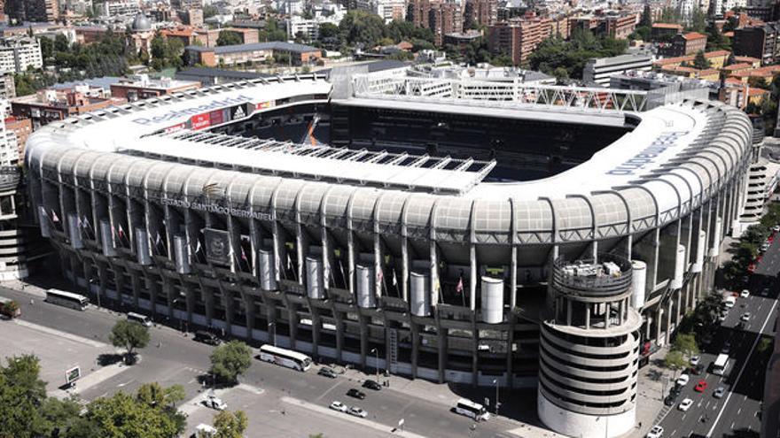 Estadio Santiago Bernabéu. (Efe).
