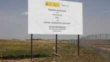 Obras del ATC en Villar de Cañas