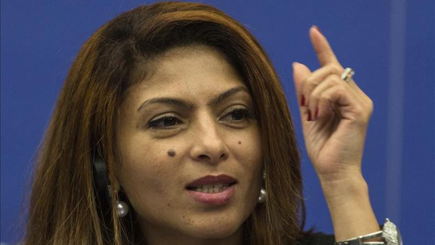 La esposa del bloguero saudí Raif Badawi pide su liberación en Viena