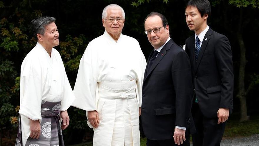 Los líderes del G7 visitan el santuario de Ise, cuna espiritual de Japón