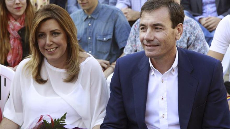"""Susana Díaz llama a los socialistas a """"no tener miedo nunca a los cambios"""""""