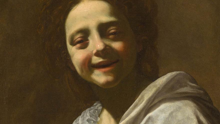 'Retrato de la niña con paloma', del pintor francés Simon Vouet