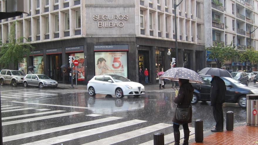 Las intensas lluvias dejan 106 l/m2 en Bidania (Gipuzkoa) en las últimas 24 horas