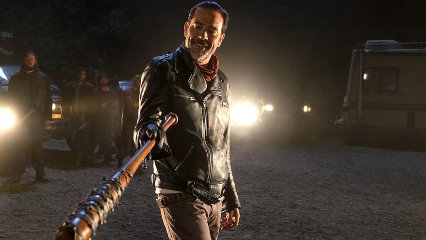 The Walking Dead - Jeffrey Dean Morgan como Negan