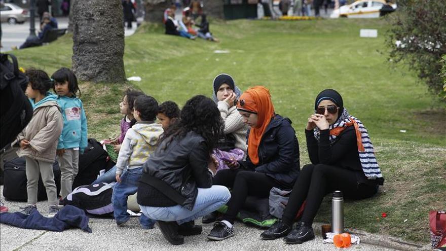 Refugiados sirios en Uruguay acampan y piden al Gobierno poder dejar el país