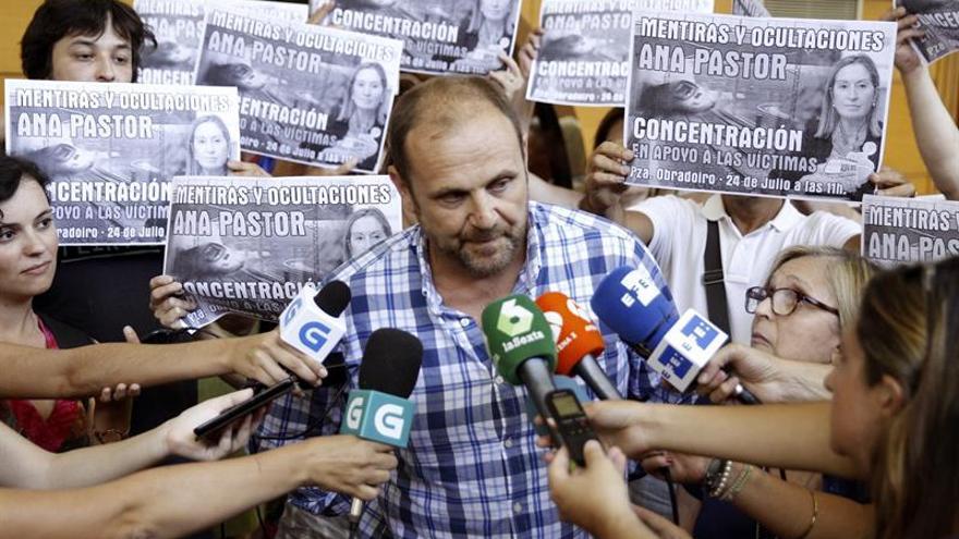 """Víctimas del Alvia dicen que la """"verdad"""" y """"la justicia"""" no son """"negociables"""""""