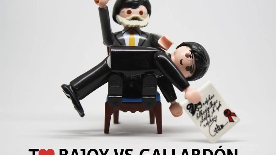 I love Rajoy vs Gallardón