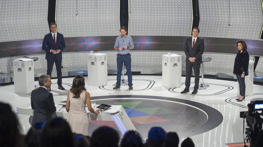 Castilla-La Mancha, entre las comunidades donde más se vio el debate, registró un 51,2% de share