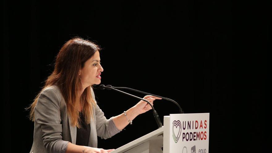 Sira Rego, eurodiputada Unidas Podemos