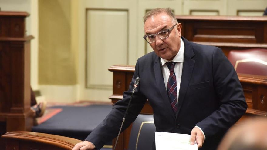 José Manuel Baltar, consejero de Sanidad del Gobierno de Canarias.