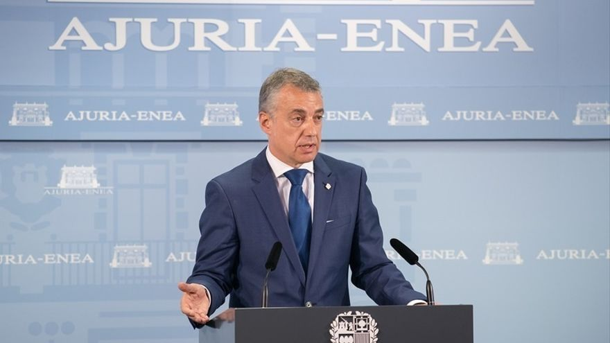 Urkullu cree esencial para entrar a negociar los PGE la retirada de los recursos y que se completen transferencias