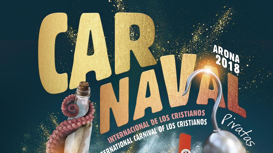 Cartel de la edición de 2018 del Carnaval de Arona