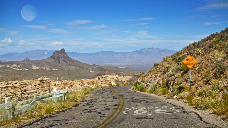Histórica Ruta 66. Flickr, CC.