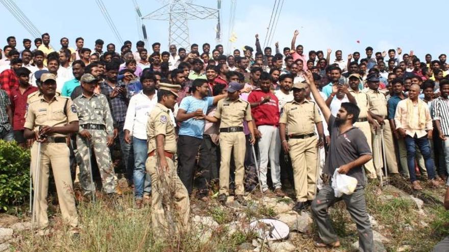 La Policía mata a los 4 acusados de la violación de una joven veterinaria en la India