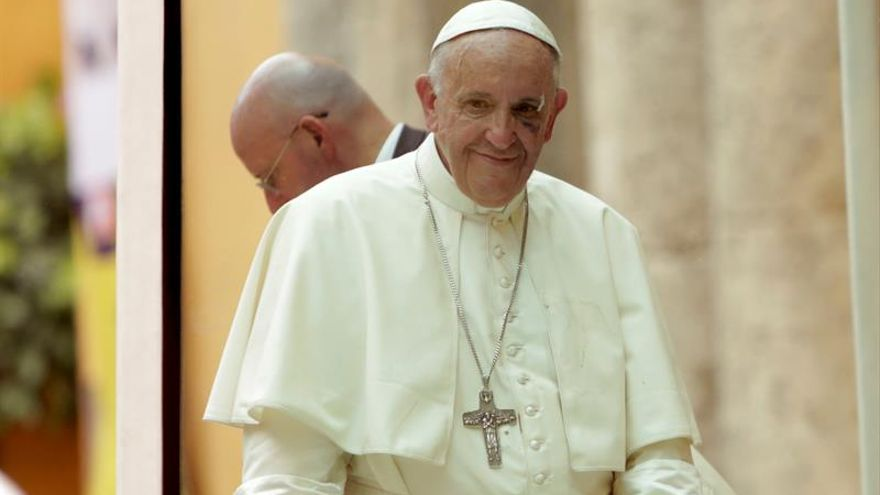 El papa afirma que en la pacificación de Colombia no se puede obviar a la gente
