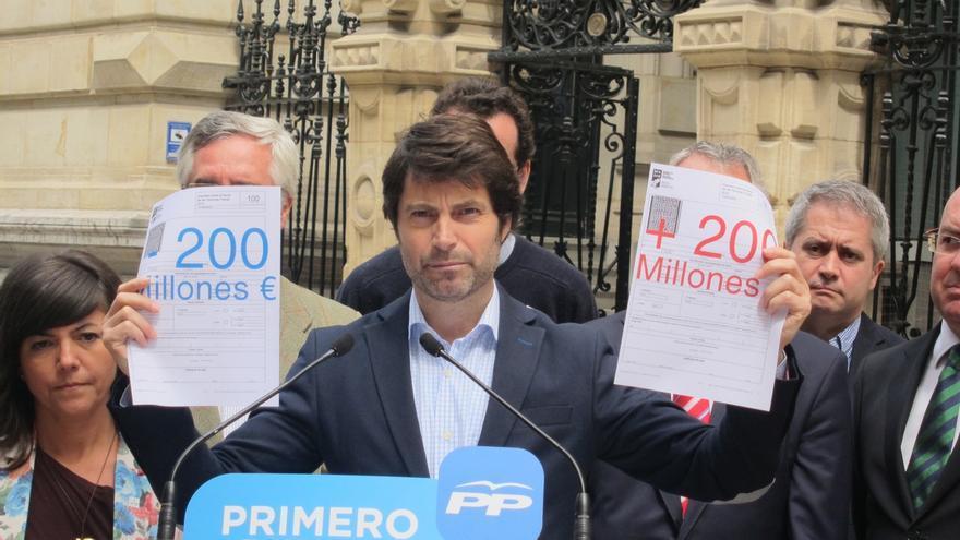 El PP de Bizkaia propone bajar el IRPF, el Impuesto de Sociedades y suprimir el Impuesto de Sucesiones