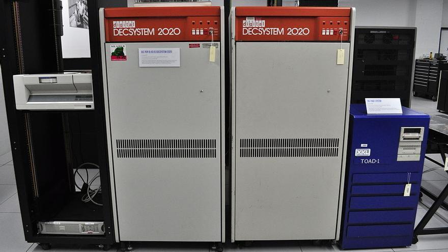 Un DECSYSTEM 2020, uno de los ordenadores que Gary Thuerk quería promocionar