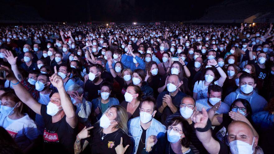 Los impulsores del concierto del Sant Jordi aplauden el civismo del público
