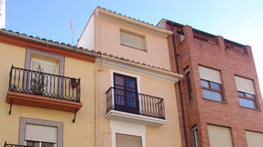 La primera casa que se rifó en España, en Segorbe, Castellón