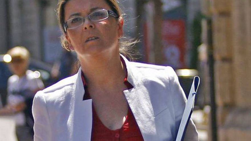 Cristina Ibáñez, ex gerente del PPCV