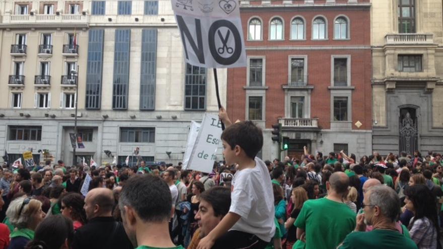 Manifestaci�n de Madrid