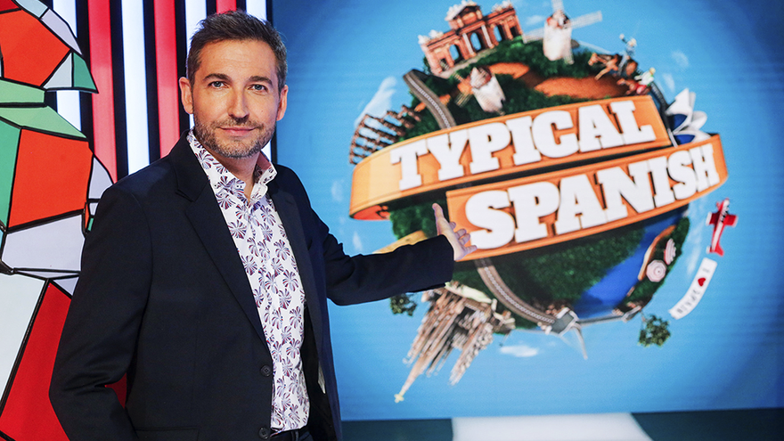 Frank Blanco, presentador de 'Typical Spanish' en TVE