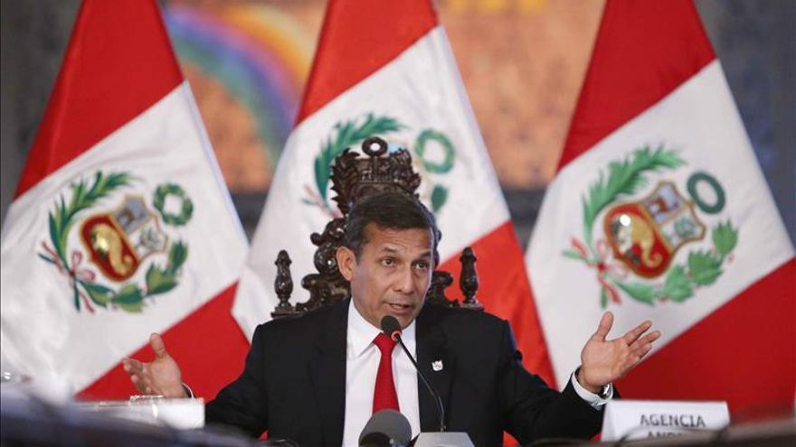 Humala afirma que el presupuesto de 2015 cambiará la realidad de Perú