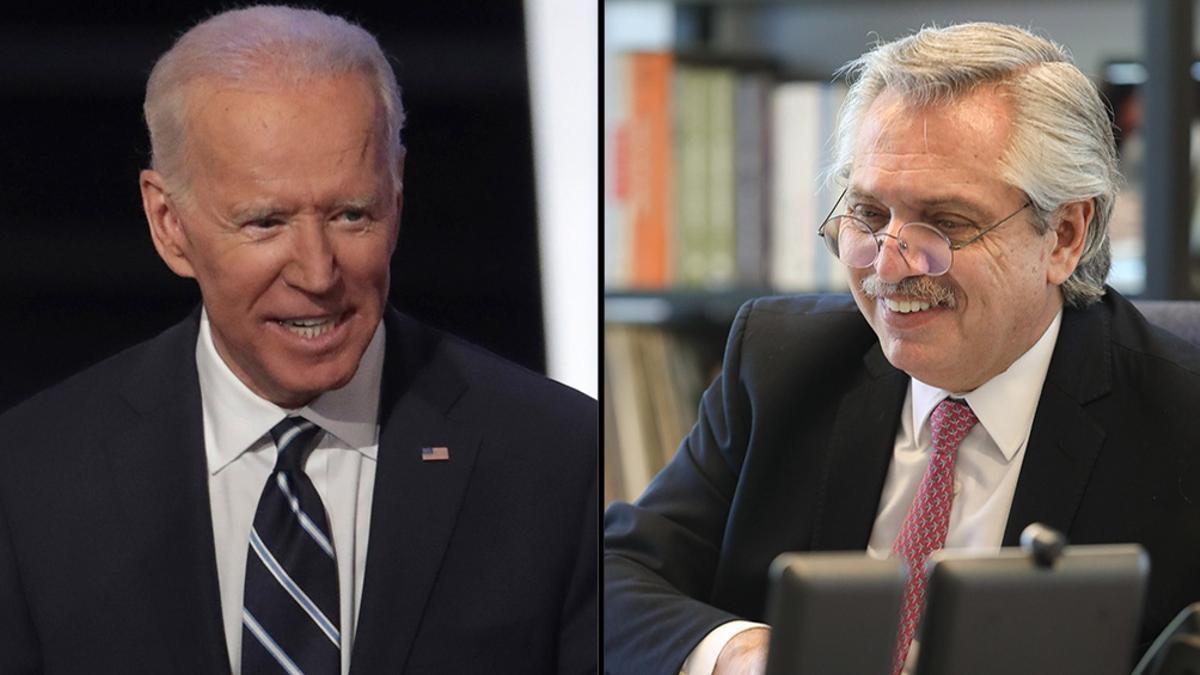 Fernández espera que Biden le done una parte de las dosis que no piensa usar.