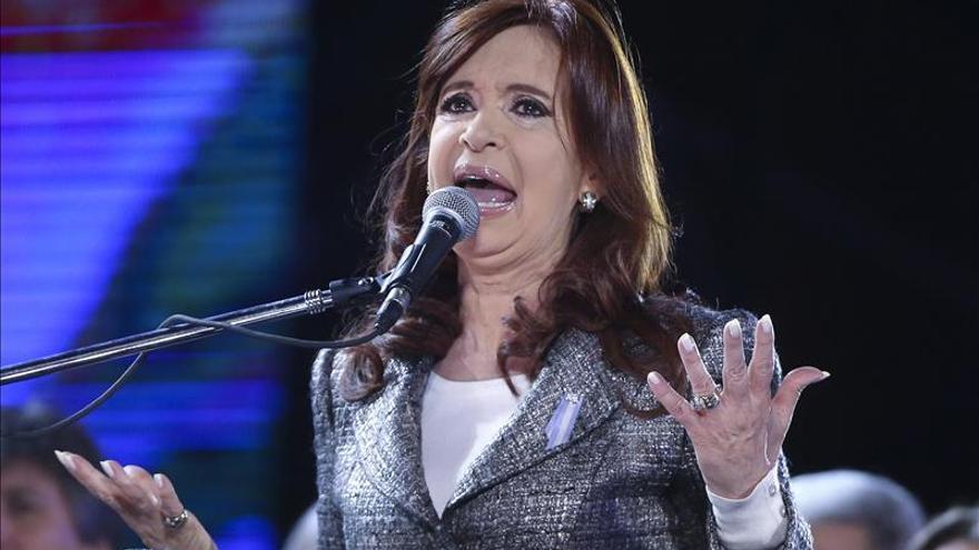 La presidenta argentina cuestiona a los opositores que pretenden ajustar la economía