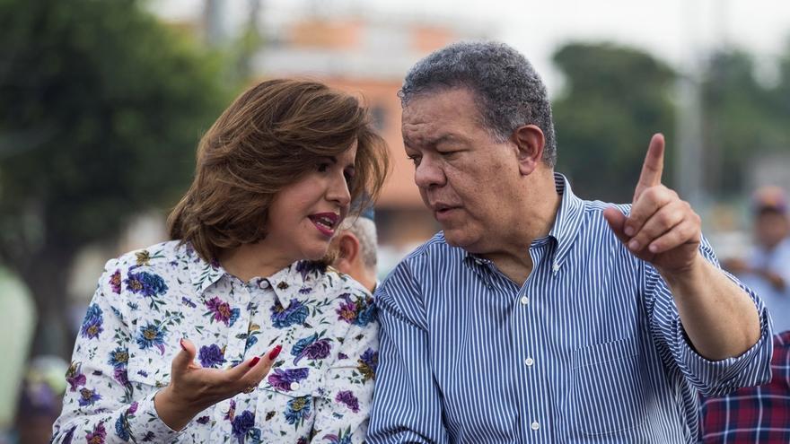"""La vicepresidenta dominicana, Margarita Cedeño, llamó este jueves """"machista"""" a su esposo, el expresidente Leonel Fernández."""