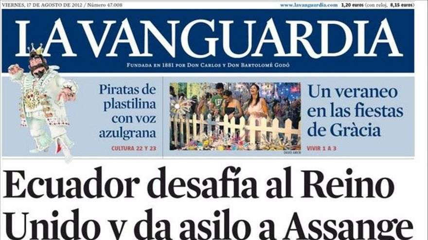 Las portadas del día (17/08/2012) #6