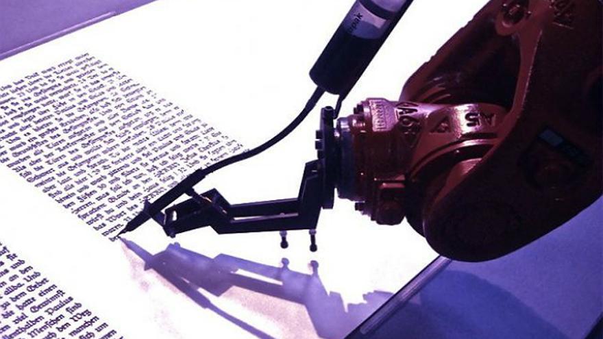 ¿Un robot capaz de contar historias escritas como los humanos? (Foto: Wikipedia)