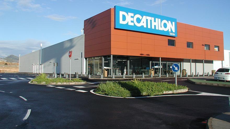 Instalaciones de Decathlon en la ciudad de Telde.