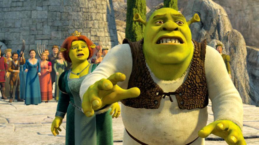 """""""Shrek III"""" reina en el prime time pese a que """"Wall-E"""" arrasa entre los niños"""