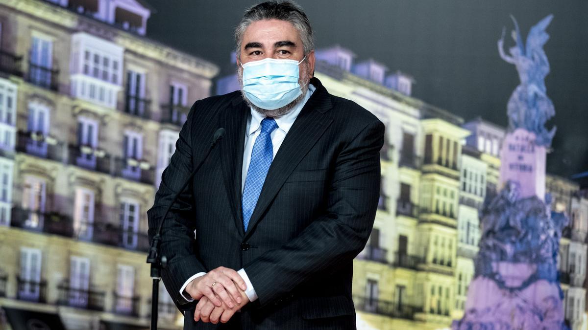 El Ministro de Cultura y Deportes José Manuel Rodríguez Uribes en la 12ª Edición del FesTVal en Vitoria