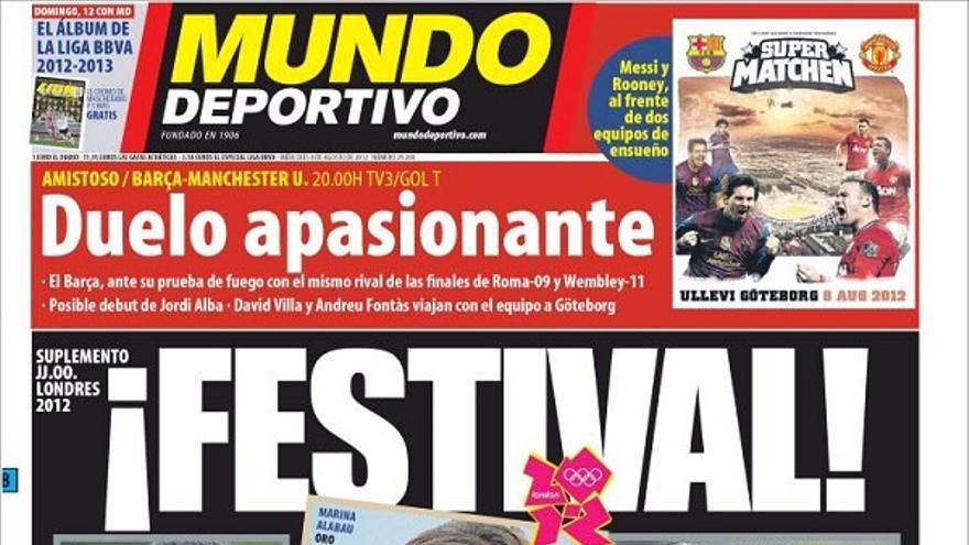 De las portadas del día (08/08/2012) #13