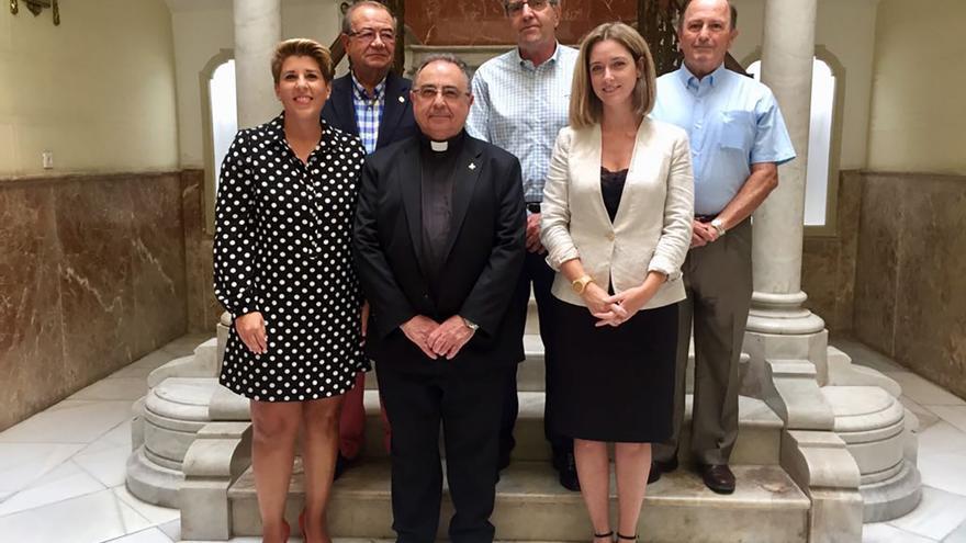 Reunión con vicario episcopal de Cartagena