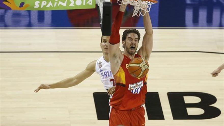 La selección española de baloncesto ha cerrado esta fase de grupos sumando otra rotunda victoria frente a Serbia. (ALBERTO NEVADO/FEB)