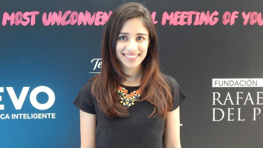"""Neha fue parte de la lista de 2015 de """"los 30 menores de 30"""" de Forbes"""
