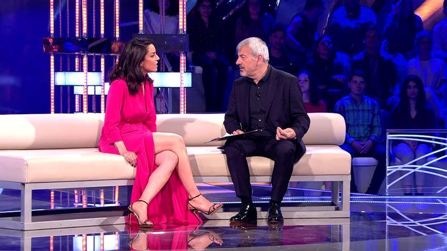 Ruth Lorenzo y Carlos Sobera en Volverte a ver de Telecinco