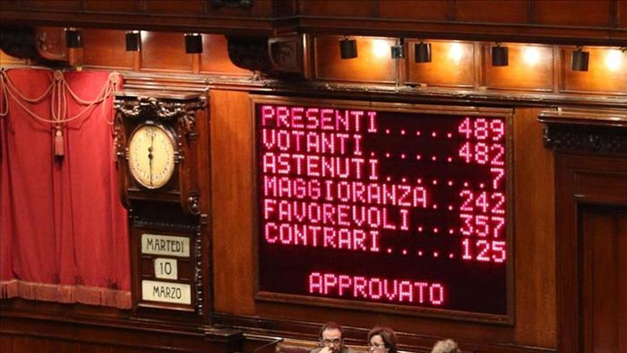 Italia da un paso más hacia el fin del bicameralismo perfecto