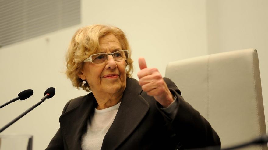 """Carmena pide al Congreso que tome """"ejemplo"""" de la investidura del Gobierno municipal de Madrid"""