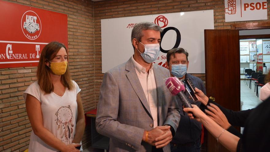 """El PSOE provincial de Toledo, sobre las medidas de Ayuso: """"Llegan tarde, son insuficientes y han creado desconcierto"""""""