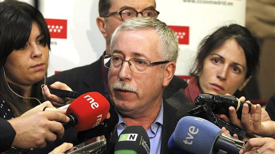"""Toxo dice que """"ojalá hayan vuelto"""" los socialistas"""