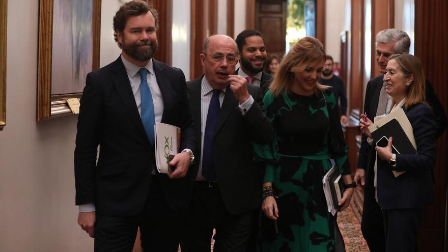 """PSOE veta a Vox para presidir comisiones en el Congreso y los de Abascal esperan que el PP no sea cómplice del """"rodillo"""""""