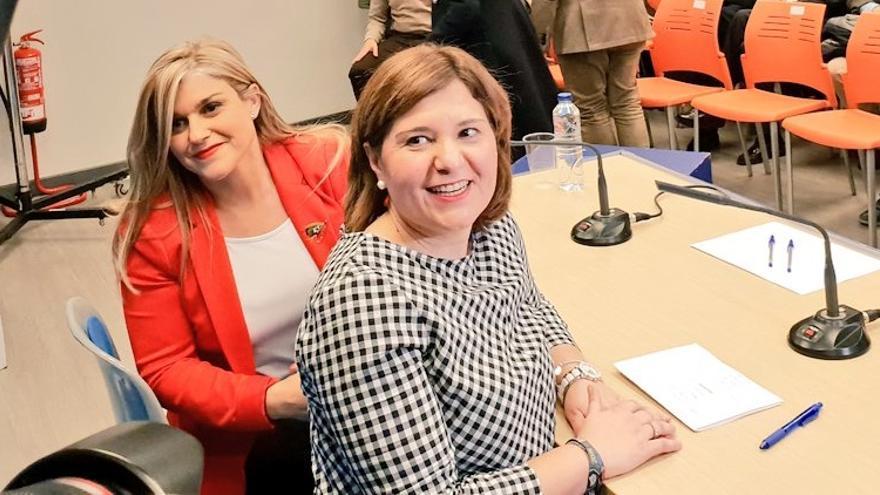 Eva Ortiz e Isabel Bonig han anunciado el acto de proclamación de candidatos