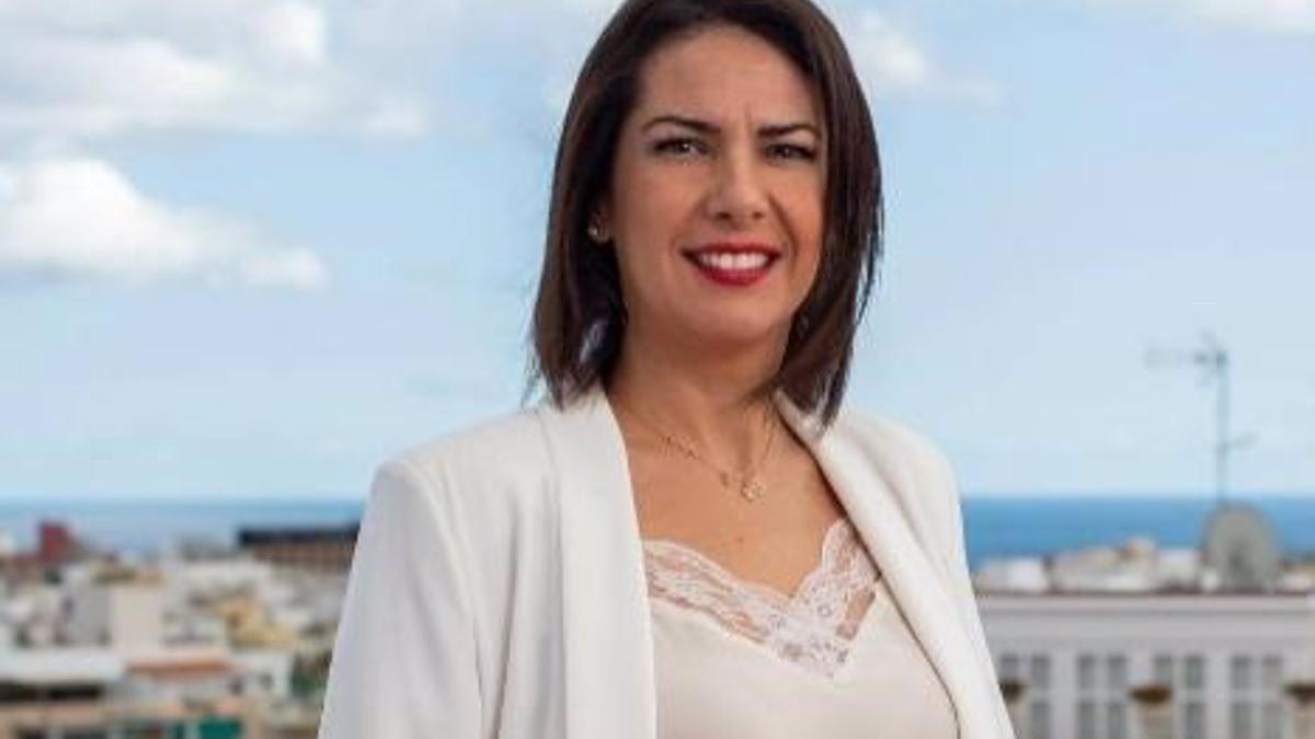 Evelyn Alonso, segunda teniente de alcalde y concejala de Promoción Económica del Ayuntamiento de Santa Cruz de Tenerife